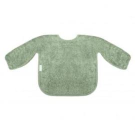 Mouwslab in spons, stone green, met of zonder naamborduring