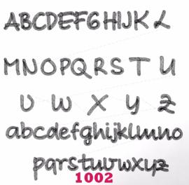 Lettertype 1002
