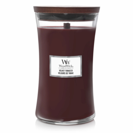 "WoodWick Jar Large ""Velvet Tobacco"""