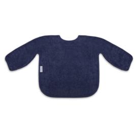 Mouwslab in spons, donker blauw, met of zonder naamborduring