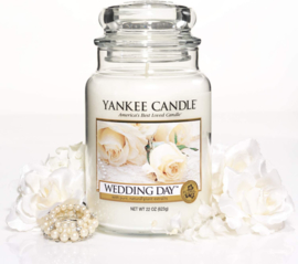 Yankee candle, Wedding Day, Jar large