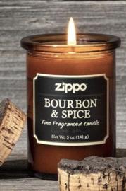 """Geurkaars  Zippo """"Bourbon & Spice"""""""