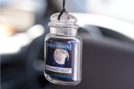 "Car Jar, Odour neutralising ""Yankee Candle"" Midsummer Night"