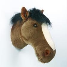 """'Wild & Soft - Trophy'- Muurdecoratie Paard """"Scarlett"""""""