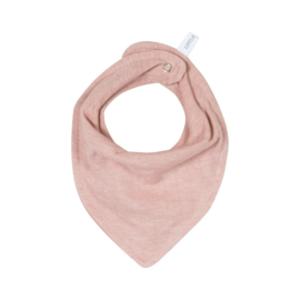 Bandana / Slabbetje,Little Dutch, pure coll.pink met of zonder naamborduring