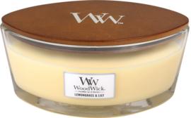 """""""Lemongrass & Lily"""" WoodWick Ellipse 50u."""