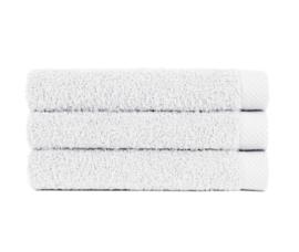 Douche Handdoek Wit (70 x 140) + 1 naam geborduurd
