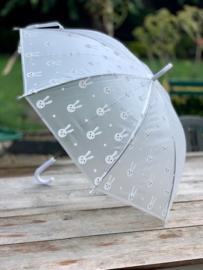 Paraplu, konijntjes