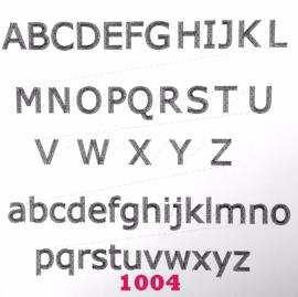 Lettertype 1004
