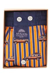 """MEDIUM, """"McAlson"""" Boxershort met binnenbroekje, met 2 gratis geborduurde initialen"""