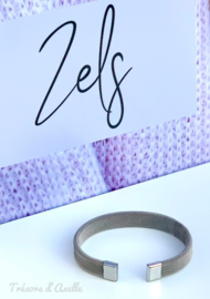 """Armband """"Zels"""", staal"""
