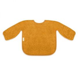 Mouwslab in spons, ochre, met of zonder naamborduring