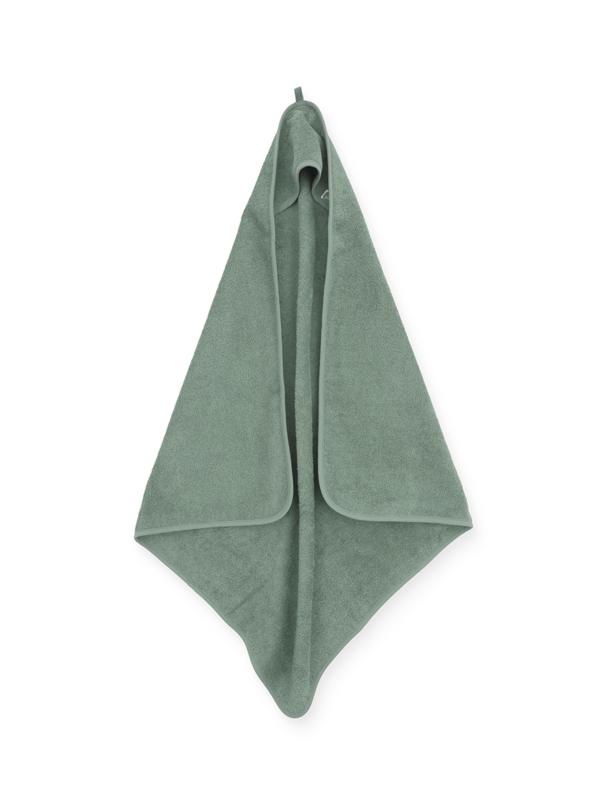 """""""Jollein"""" Badcape 75x75cm, groen, met of zonder naamborduring"""