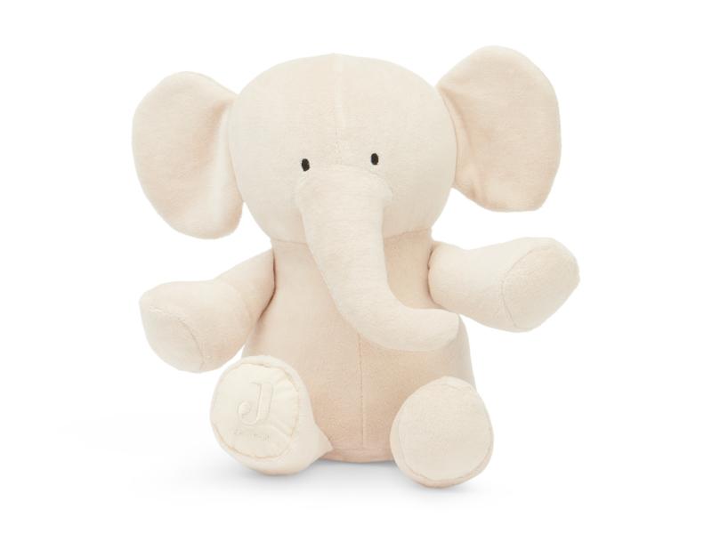"""Jollein"" Knuffel olifant, nougat"