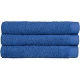Douche Handdoek Blauw ultramar (70 x 140) + 1 naam geborduurd