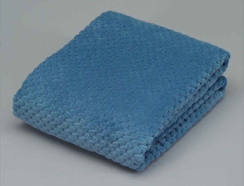 Mini plaid checks blue