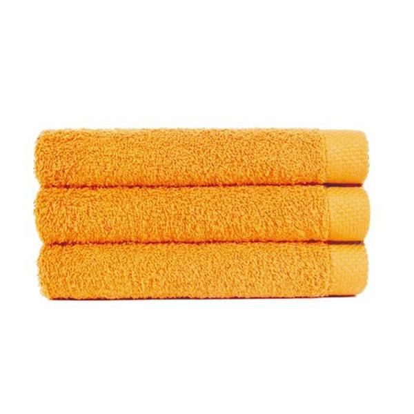 Bad Handdoek Oker geel (100 x 150) + 1 naam geborduurd
