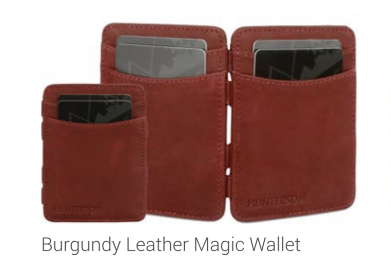 "Magic Wallet ""Hunterson"", bordeau"