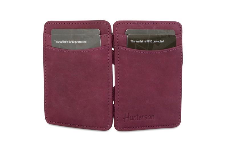 "Magic Wallet ""Hunterson"", purple"