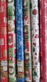48 meter Kerst inpakpapier