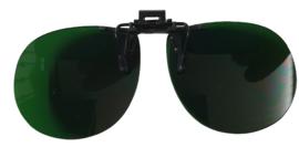 Clip on opzet zonnebril