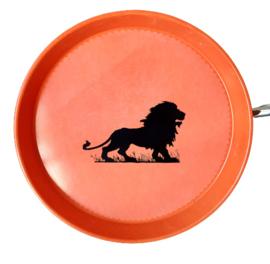 Aluminium dienbladen oranje leeuw
