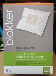 Stofzuiger zakken Samsung Philips Princess