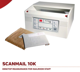 Scanmail 10K bombrief explosieven detector