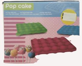 Popcake vorm met stokjes