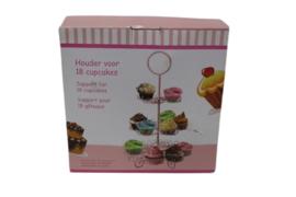 Cupcake houder voor 18 cupcakes