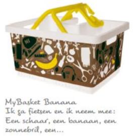 My basket Banana fietsmand