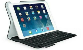 Logitech UltraThin Keyboard Folio iPad Mini White