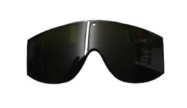 Partij Uvex veiligheidsbril opzet brillen