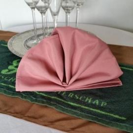 Roze horeca restaurant servetten