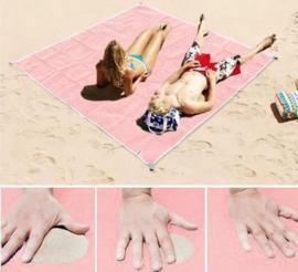 Zandvrije Roze Strandmat van  Apachie