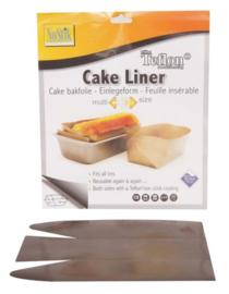Bakpapier cake liner met teflonlaag