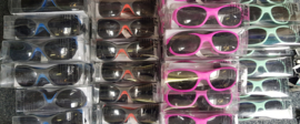 Partij van 95 kinder zonnebrillen