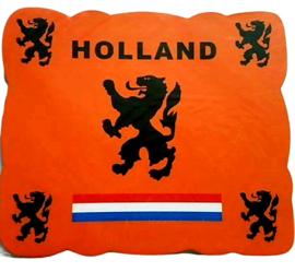 Oranje voetbal muismat