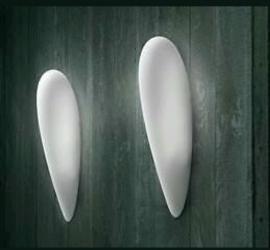I tre Messalina Parete design wandlampen