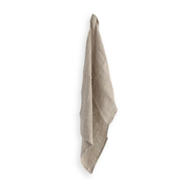 linen tea towel RAW