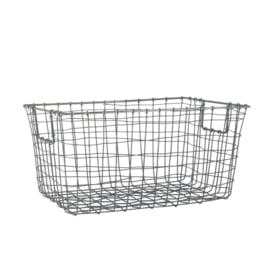 wired basket rectangle