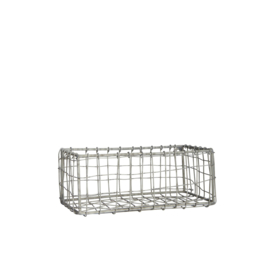 small wired basket rectangle