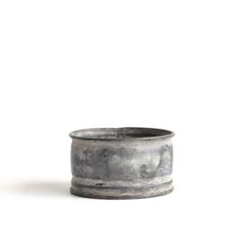 candle holder zinc