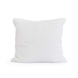 linen pillow case PURE WHITE