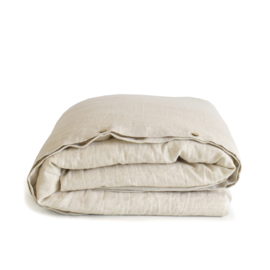 linen duvet cover set NATURAL