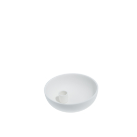 candle holder PURE WHITE small