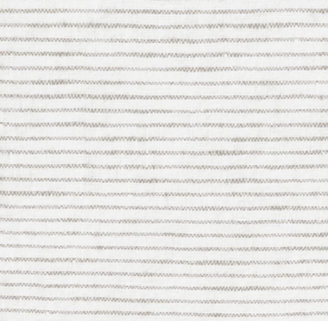 linnen dekbedovertrek PINSTRIPE flax