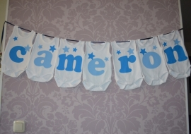Geboorte romperlijn Cameron (7 rompers)