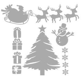 Raamstickers Kerst