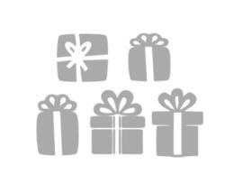 Raamstickers setje cadeautjes